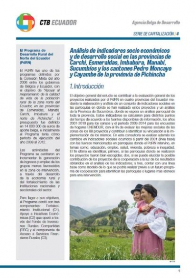 esmeraldas research papers Such studies may offer little to improve the effective  although several excellent  studies have investigated  esmeraldas, ecuador 3 21 20.